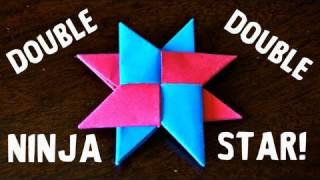 How to Make a Double Ninja Star (DIST-8) - Rob