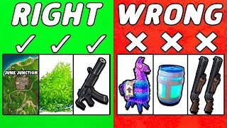 7 Mistakes NOOBS Make in Season 5....  ~ Fortnite Battle Royale
