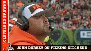 GM John Dorsey on Choosing Freddie Kitchens as Head Coach | Cleveland Browns