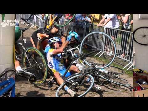 Paris Roubaix 2015 Train Blockage!