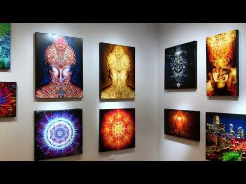 Art Gallery Atlanta - Awakening Visions - Visionary Art Of Jalai Lama (2019 Grand Opening)