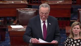 Chuck Schumer: Congress Needs to Move Forward Without President Trump to End Shutdown 1/14/19