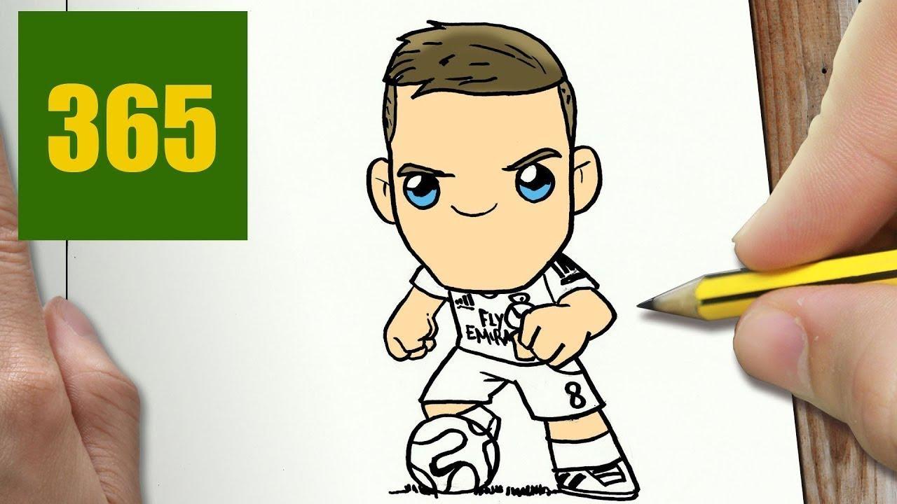 Come Disegnare Giocatore Di Calcio Passo Dopo Passo Disegni Facile