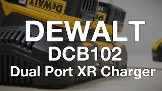 Dewalt DCB102 XR Li-ion Dual Port and USB Charger - ITS TV