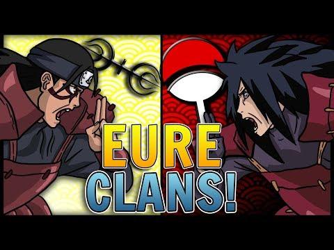 EURE 6 Stärksten Clans in Naruto!   SerienArmy