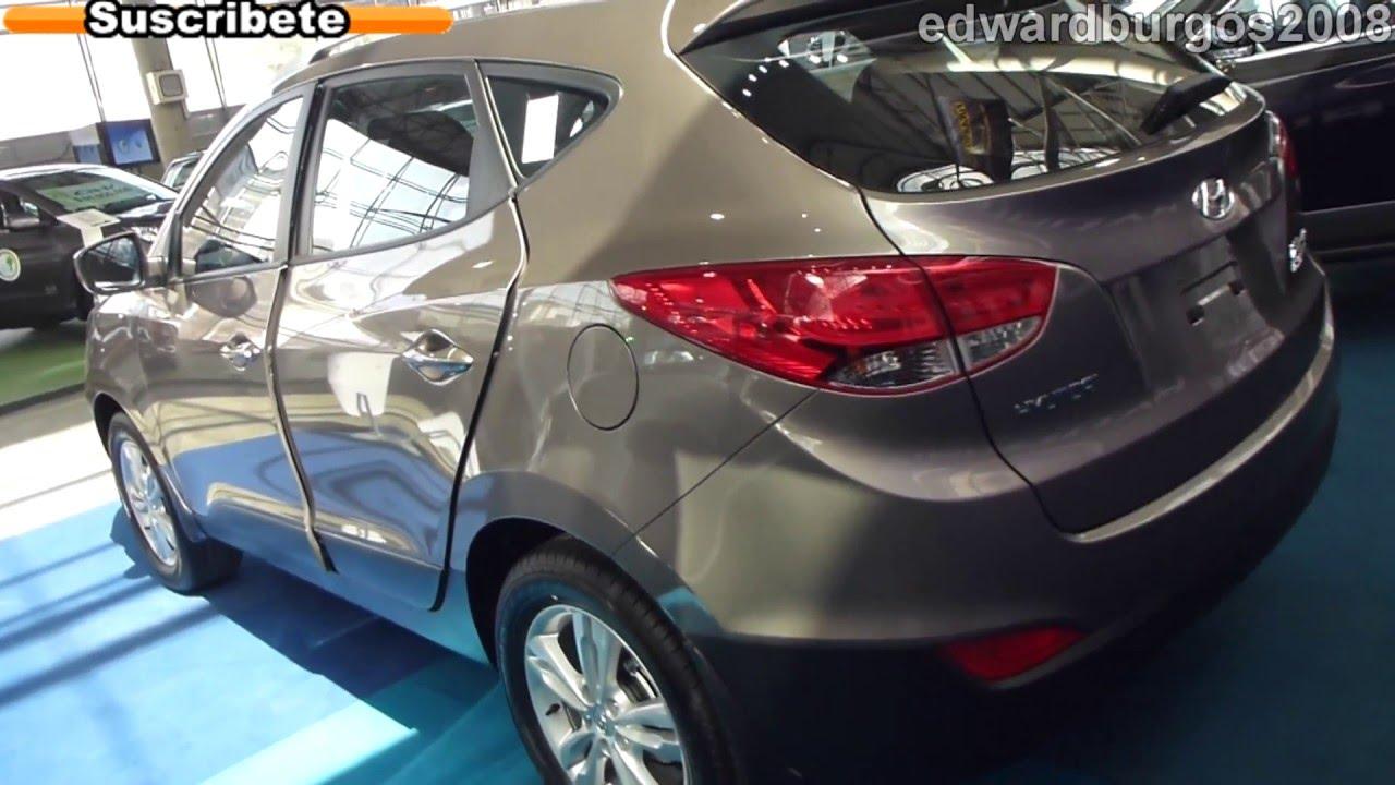 Hyundai tucson ix35 2013 colombia video de carros auto show medellin 2012 full hd youtube