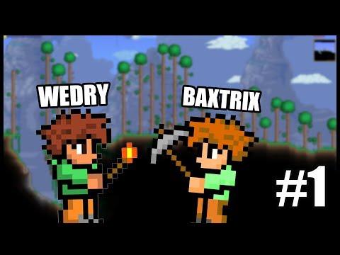 JDEME DOBÝT SVĚT! - Terraria /w Baxtrix #1