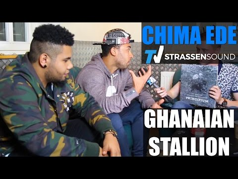 CHIMA EDE & GHANAIAN STALLION Interview: Megaloh, Marvin Game, Tour, Morten, Afrika, Afrob, Berlin