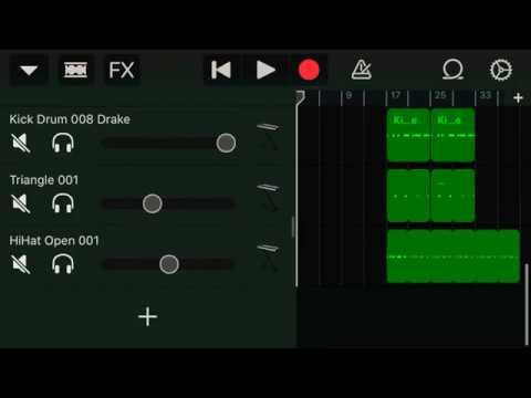 Download PHONK Trap beat in GarageBand