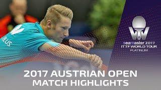 2017 Austrian Open Highlights: Koki Niwa vs Ruwen Filus (R16)