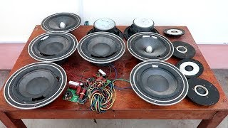 Mr.Electricity Restoration Project // Restoration Acoustic Speakers Membrane Tear