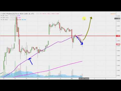 OWC Pharmaceutical Research Corp - OWCP Stock Chart Technical Analysis for 03-01-17
