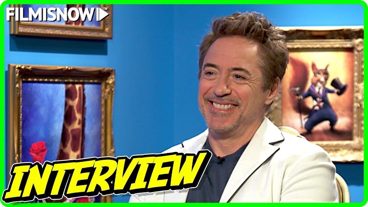 Robert Downey Jr. Interview for DOLITTLE