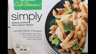 Healthy Choice Café Steamers Simply Lemon Herb Chicken Review