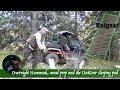 Overnight Hammock, Wood Prep and the UniGear Sleeping Pad