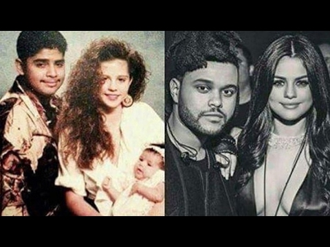 THIS Pic of Selena Gomez & The Weeknd Looks JUST Like Her Parents & It's Kinda Creepy