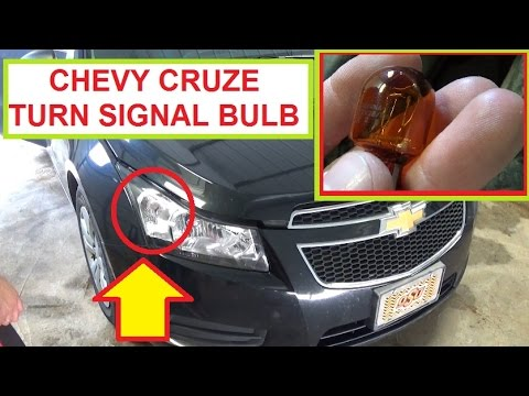 chevrolet cruze front turn signal light bulb removal and chevrolet cruze front turn signal light bulb removal and replacement chevy cruze
