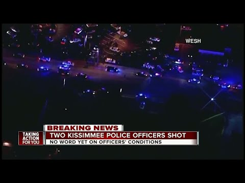 2 Kissimmee officers shot in Osceola Co., officials say