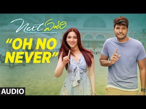 Oh No Never Full Audio Song | Next Enti | Leon James | Sundeep Kishan, Tamannaah Bhatia,Navdeep