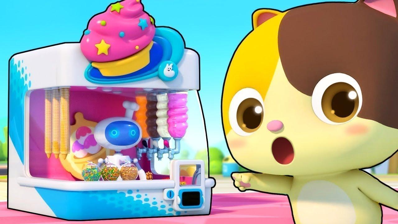 Tiệm kem chú Robot | Tuyển tập bài hát những món ăn ngon | Nhạc thiếu nhi vui nhộn | BabyBus