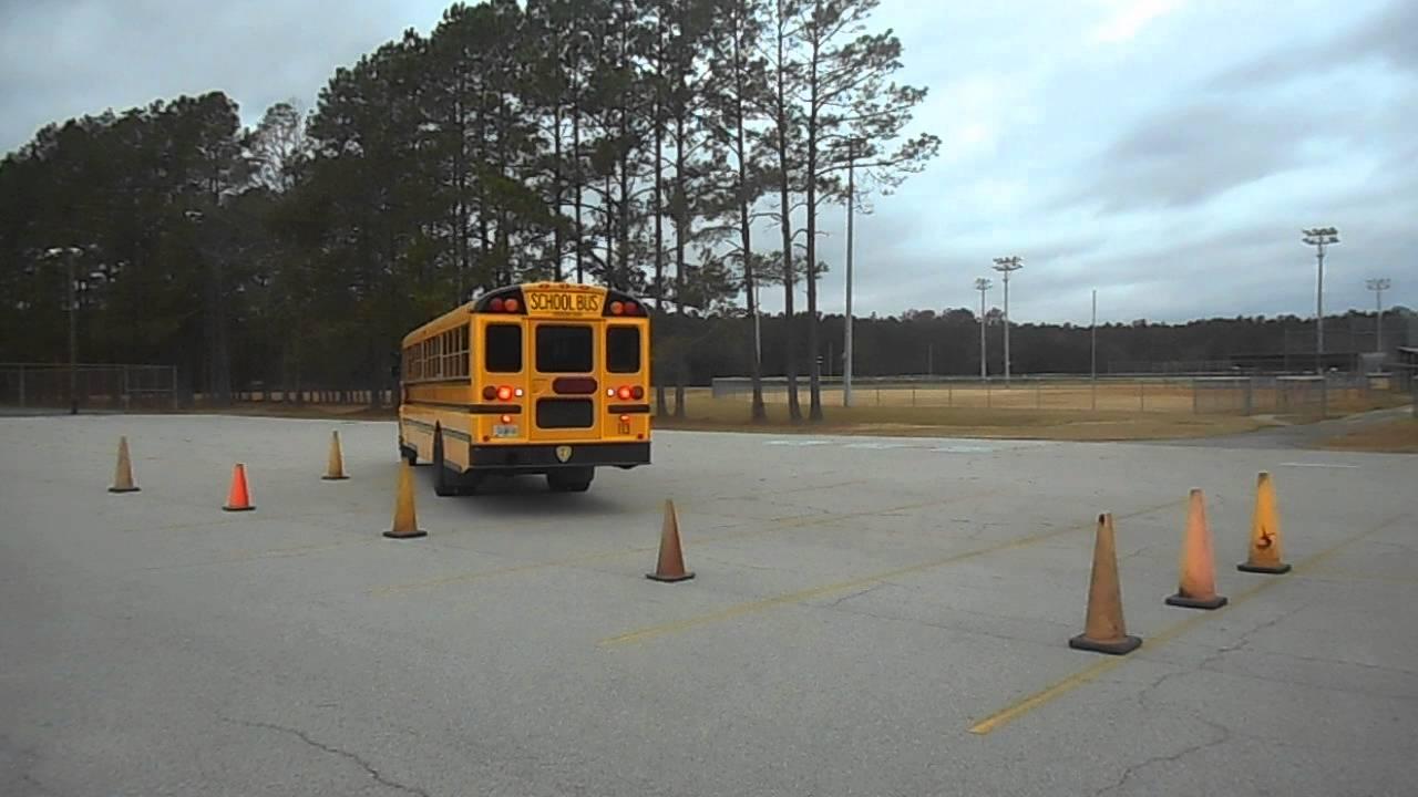 54  Skills  U2013 Parallel Parking    Driver Side  U2013 Class B Cdl School Bus