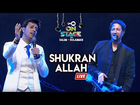 Shukran Allah - Full Song | Salim Sulaiman Live | 9XM On Stage Mp3