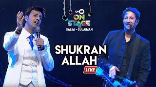 Shukran Allah Full Song , Salim Sulaiman Live , 9XM On Stage