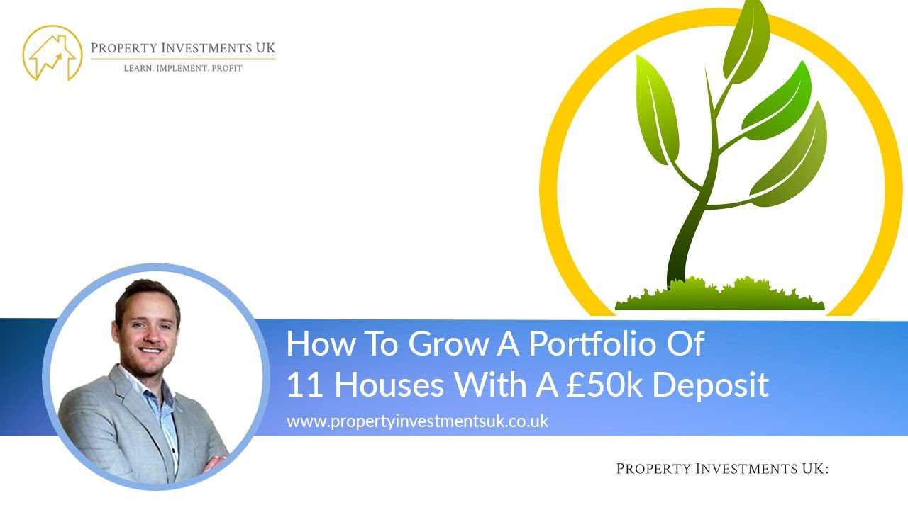 How To Grow A Portfolio Of  Houses From A K Deposit