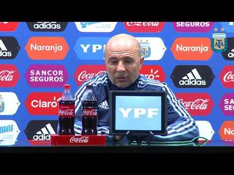 Conferencia de Jorge Sampaoli - Post partido contra Venezuela