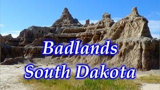 Badlands South Dakota Hiking & Camping ~ Wyoming Trip Part 1 1080p