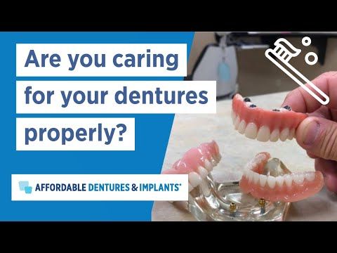 Caring for Dentures | Denture Care