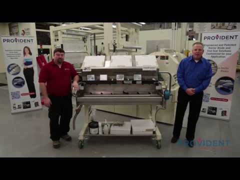 Provident Showcases an Enclosed, Chambered Doctor Blade System Part 1 of 2