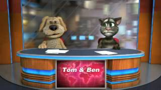 Gambar cover parodia Talking Tom & raffaele