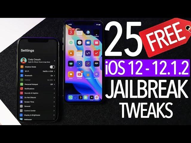 The 25 Best iOS 12 – iOS 12 1 2 Jailbreak Tweaks