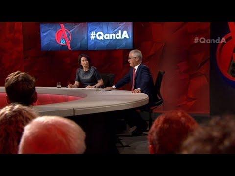PM Malcolm Turnbull on Q&A