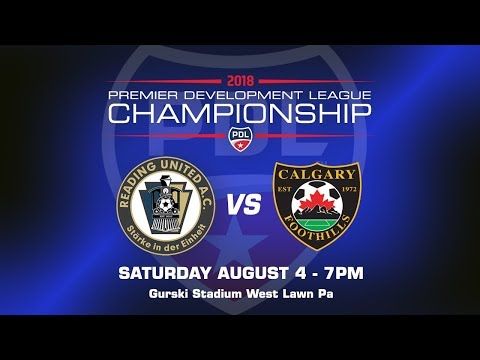 2018 PDL Championship: Reading United AC vs. Calgary Foothills FC