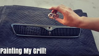 Using Plasti Dip To Paint Your Grill On Your Car