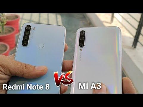 Redmi Note 8 Vs Mi A3 Comparison : Which One To Buy ? {Hindi-}
