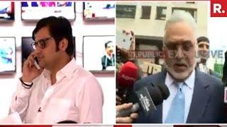 Arnab Goswami Confronts Vijay Mallya | Exclusive