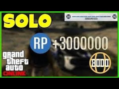 GTA 5 | Solo RP Glitch  ( PS4, XBOX 1, PC ) *WORKING 2020, No Requirements*