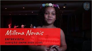 Entrevista - Millena Novais [Audição EMPM 2020 - LIVE]