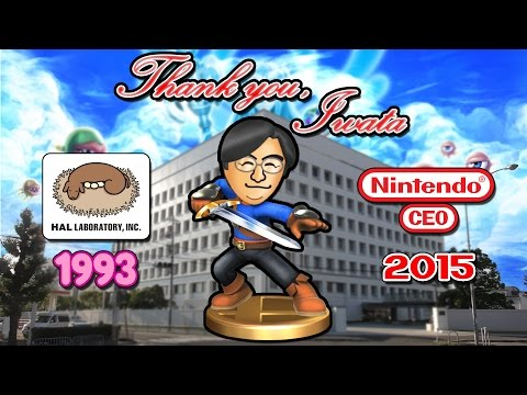 Iwata Joins the Battle on Rainbow Road (Nearly Every Game Credit) #ThankYouIwata