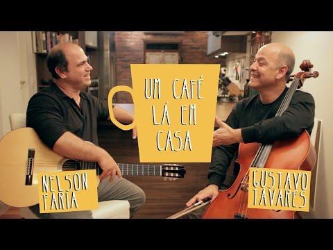 Um Café Lá em Casa com Gustavo Tavares e Nelson Faria