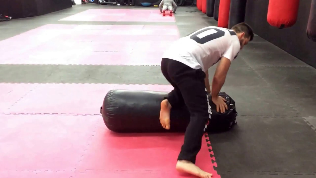 Mma Ground And Pound Heavy Bag Drill