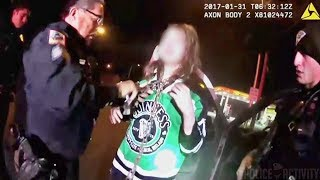 Police Bodycam Video Shows Rescue Of Kidnapped Woman