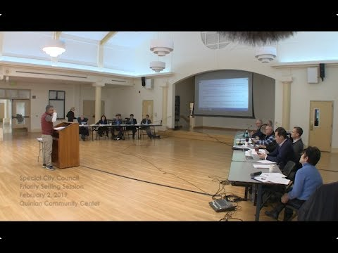 Cupertino City Council Special Priority Setting Meeting, 2019