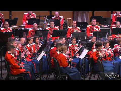 "MACKEY The Frozen Cathedral - ""The President's Own"" U.S. Marine Band"