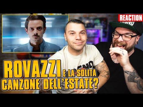 Rovazzi - Senza Pensieri (feat. Loredana Bertè & J-Ax) * REACTION * Arcade Boyz