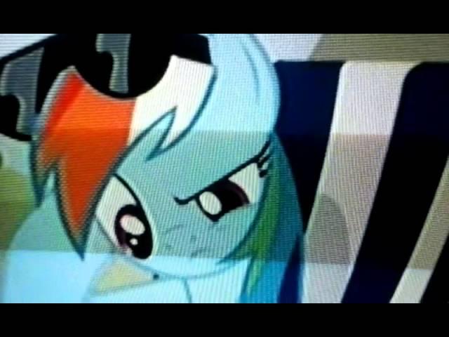 A pony on tv
