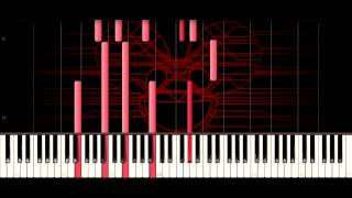 deadmau5 - Terrors in my Head [Piano Tutorial]